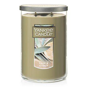 Yankee Candle Sage & Citrus Tall 22-oz. Candle Jar