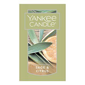 Yankee Candle Sage & Citrus Tall 22-oz. Large Candle Jar