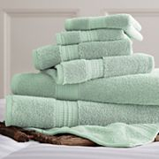 Allure Solid 6 pc Bath Towel Set