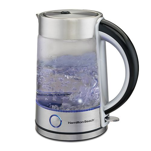 Hamilton Beach 1.7-liter Elegant Glass Electric Kettle