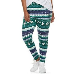 Juniors' Plus Size SO® Holiday Leggings