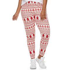 Juniors' Plus Size SO® Holiday Leggings
