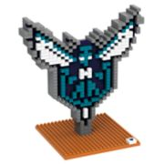 Forever Collectibles Charlotte Hornets BRXLZ 3D Logo Puzzle Set