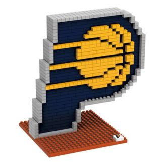 Forever Collectibles Indiana Pacers BRXLZ 3D Logo Puzzle Set