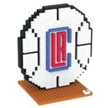 Forever Collectibles Los Angeles Clippers BRXLZ 3D Logo Puzzle Set