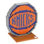 Forever Collectibles New York Knicks BRXLZ 3D Logo Puzzle Set