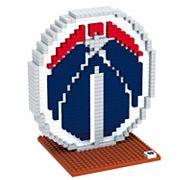 Forever Collectibles Washington Wizards BRXLZ 3D Logo Puzzle Set