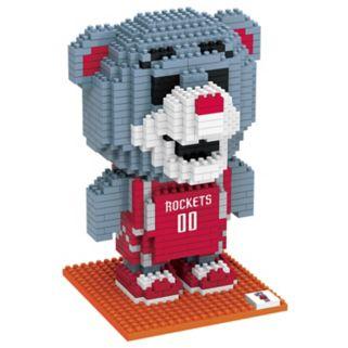 Forever Collectibles Houston Rockets BRXLZ 3D Mascot Puzzle Set