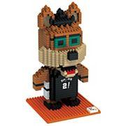 Forever Collectibles San Antonio Spurs BRXLZ 3D Mascot Puzzle Set