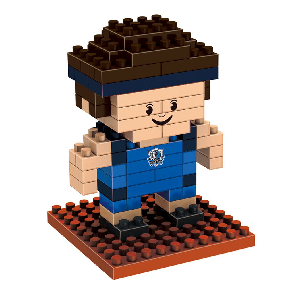 Forever Collectibles Dallas Mavericks BRXLZ 3D Mini Player Puzzle Set