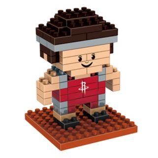 Forever Collectibles Houston Rockets BRXLZ 3D Mini Player Puzzle Set