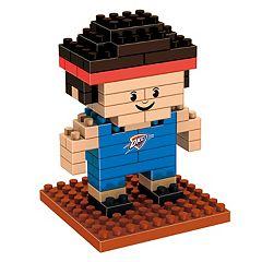 Forever Collectibles Oklahoma City Thunder BRXLZ 3D Mini Player Puzzle Set