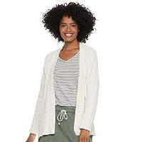 Petite SONOMA Goods for Life™ Chenille Cardigan