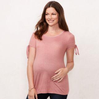 Maternity LC Lauren Conrad Cold-Shoulder Tee