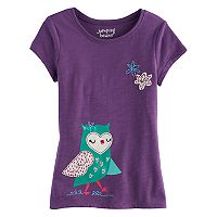 Girls 4-10 Jumping Beans® Animal Graphic Tee