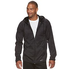 Big & Tall Tek Gear® WarmTek Athletic-Fit Space-Dyed Performance Fleece Full-Zip Hoodie