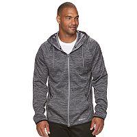 Big & Tall Tek Gear® WarmTek Athletic-Fit Space-Dyed Performance Fleece Full-Zip Hoodie