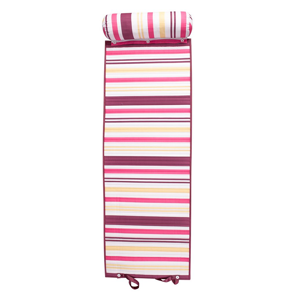 ADI Outdoor Living Stripe Rolled Beach Mat