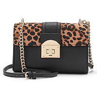 Apt. 9® Jade Leopard Print Crossbody Bag
