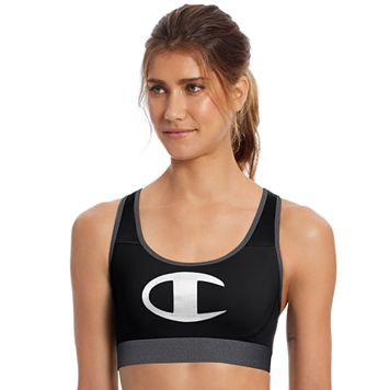 Champion Bras: Logo Graphic Medium-Impact Sports Bra B1251G