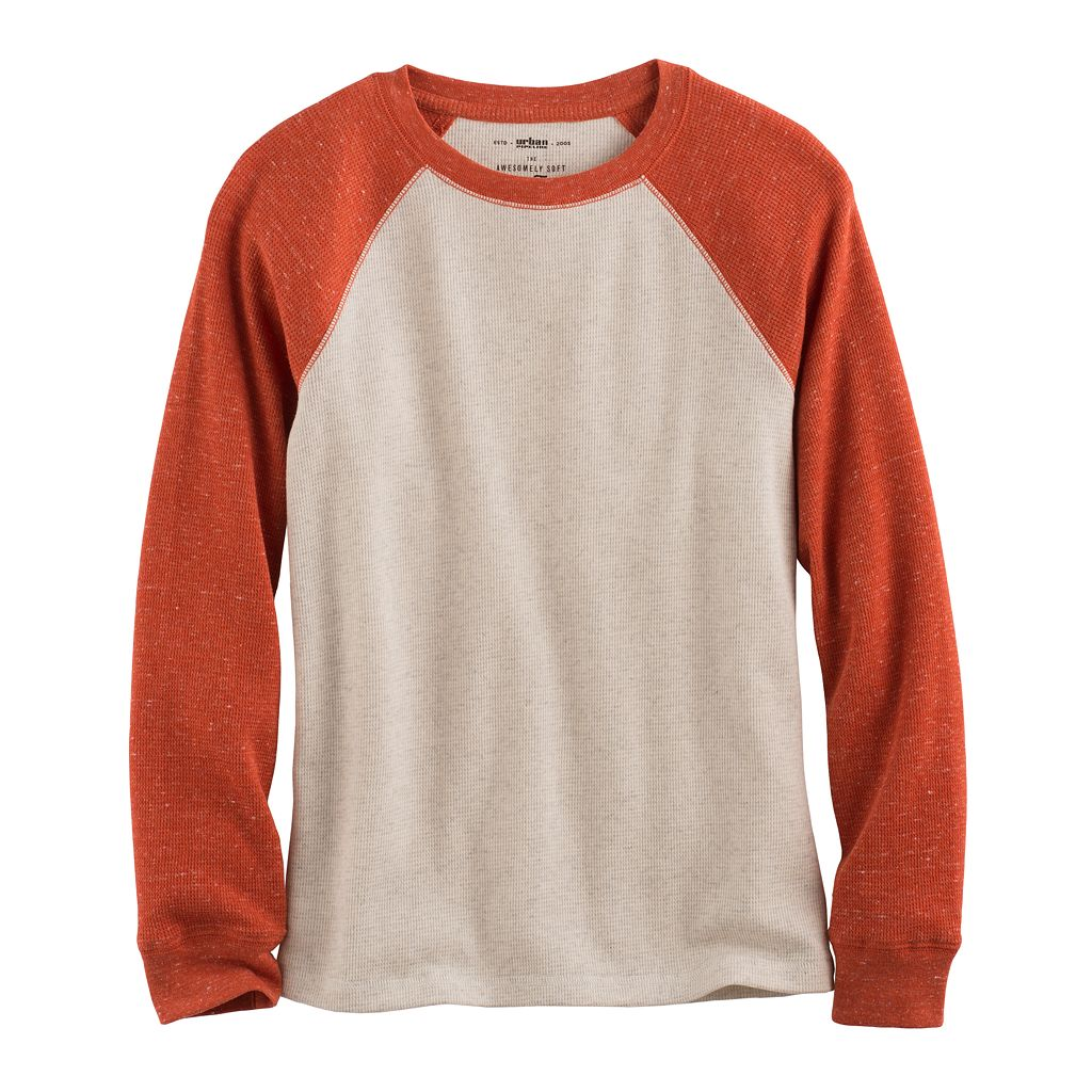 Boys 8-20 Urban Pipeline Ultimate Thermal Raglan Tee