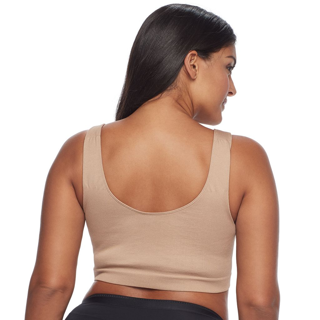 Plus Size Lunaire Bras: Seamless Leisure Low-Impact Sports Bra 1202HL