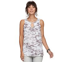 Women's Juicy Couture Embellished Keyhole Tank
