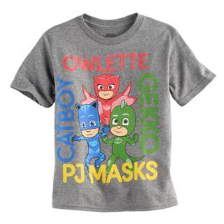 Boys 4-7 PJ Masks Owlette, Gekko & Catboy Graphic Tee