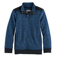 Boys 8-20 Urban Pipeline Fleece Half-Snap Sweater