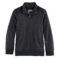 Boys 8-20 Urban Pipeline Fleece Half-Snap Sweater