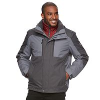 Men's ZeroXposur Fuel System 3-in-1 Systems Hooded Jacket