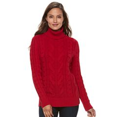 Womens Red Cowlneck Sweaters - Tops, Clothing | Kohl's