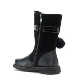 Rachel Shoes Marjorie Toddler Girls' Pom-Pom Boots
