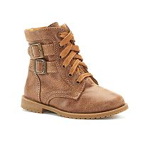 Rachel Shoes Lil Arlington Toddler Girls' Combat Boots