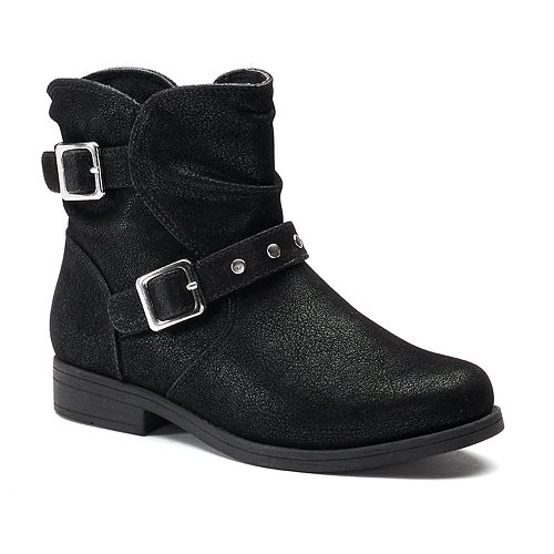 Rachel Shoes Lil Princeton Toddler Girls' Slouch Ankle Boots