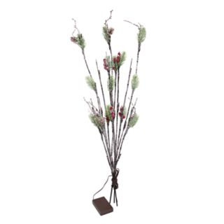 Apothecary Light-Up Artificial Pine Branch Bundle Decor