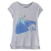 Disney's Frozen Girls 4-10 Elsa High-Low Tee by Jumping Beans®