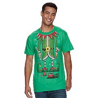Men's Christmas Elf Tee
