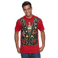 Men's Holiday Sweater Vest Tee