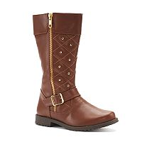 Rachel Shoes Eastport Girls' Tall Riding Boots