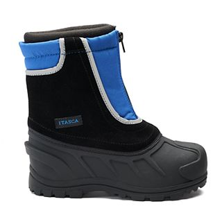 97ea861cc Itasca Reflective Snow Stomper Kids Winter Boots