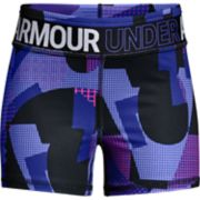 Girls 7-16 Under Armour HeatGear Printed Shorty Shorts