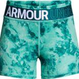 Girls 7-16 Under Armour HeatGear Printed Shorty Shorts