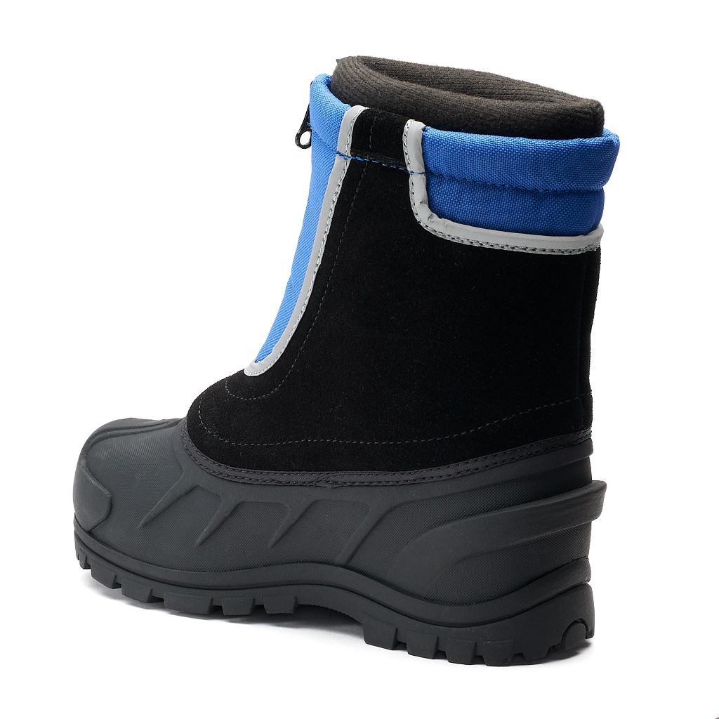 Itasca Blue Snow Stomper Toddler Winter Boots