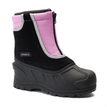 Itasca Pink Snow Stomper Toddler Winter Boots