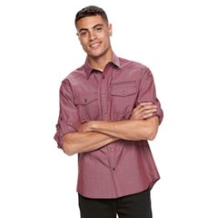 Men's Rock & Republic Dobby Button-Down Shirt