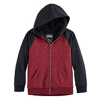 Boys 8-20 Urban Pipeline® Raglan Sherpa-Lined Fleece Hoodie