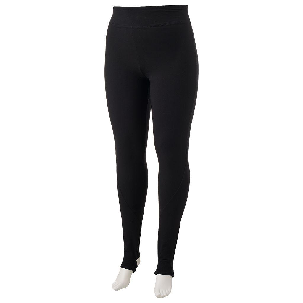 Juniors' Plus Size SO® Stirrup Leggings