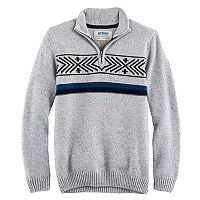 Boys 8-20 Urban Pipeline® Regular-Fit Geometric Quarter-Zip Pullover