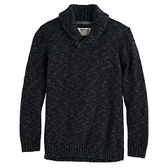 Boys 8-20 Urban Pipeline® Regular-Fit Solid Shawl-Collar Sweater
